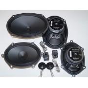 Audison APK 570 компоненты 5*7 дюймов и вуферы Audison AP 690 6*9 дюймов.