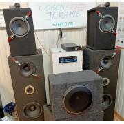 Hertz MPK 165P3, JLaudio 10TW1-4, Hertz MP 165P3, полный тест и отзывы.