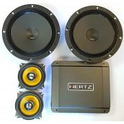 Нестандартная система: JL Audio C1-400X, Audison AP8, Hertz HCP4D - полный тест.