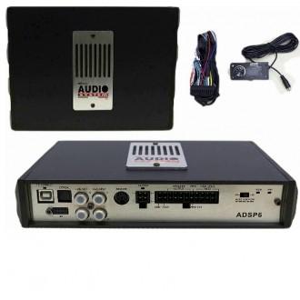 AUDIO SYSTEM AD DSP 6(усилитель+процессор)6*100Ватт