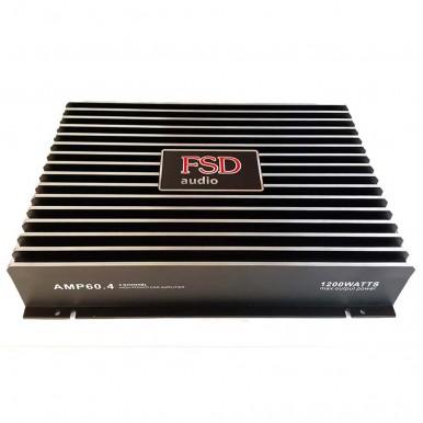 Усилитель четырехканальный FSD AMP 60.4