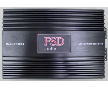 Усилитель одноканальный FSD Master 1000.1