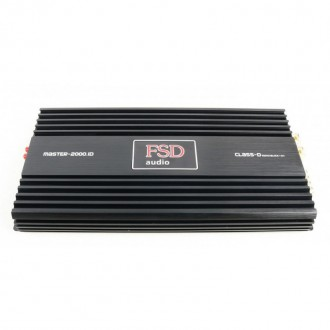 Усилитель одноканальный FSD Master 2000.1D