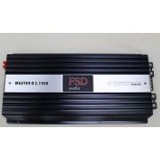FSD Master D2.1500, 2 по 1500Ватт на 1Ом!
