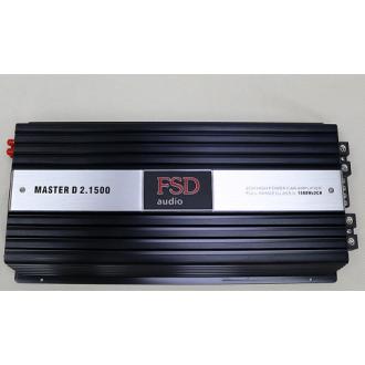 Усилитель одноканальный FSD Master D2.1500