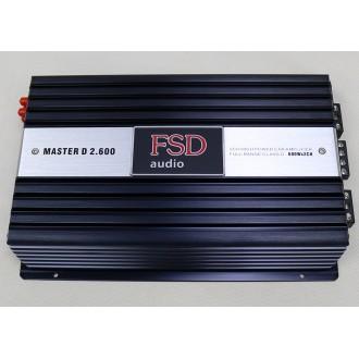 Усилитель одноканальный FSD Master D2.600