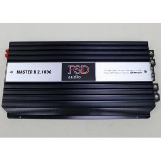 Усилитель одноканальный FSD Master D2.1000