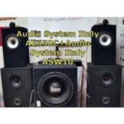 Новый тест на акустику Audio System Italy AE650C+саб ASW10