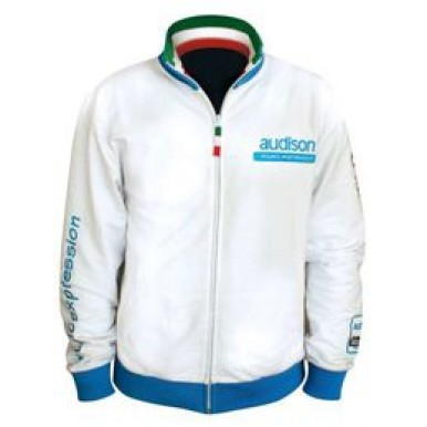 Толстовка Audison White Sweatshirt