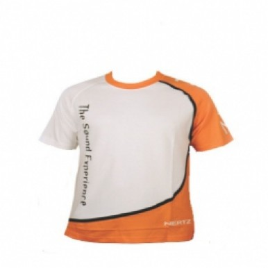 Футболка Hertz White/Orange Short Sleeve T-Shirt (M)