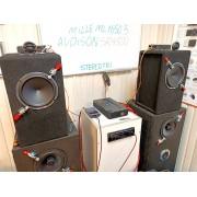 Hertz ML 1650.3+Hertz ML 280.3+Audison SR4.500 полный тест, музыка в HI-RES и DSD