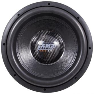 сабвуфер AMP Mass 1000 12 D2 (2+2Ом)