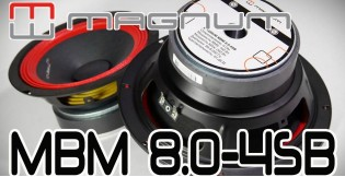 Видео обзор шир.пол динамик MAGNUM BASIC MBM 8.0-4SB